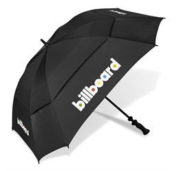 400 g m² 100% cotton 50 ( l ) x 30 ( w )  Recommended Branding Options: EM-OTHER    Gary Player Square Golf Umbrella