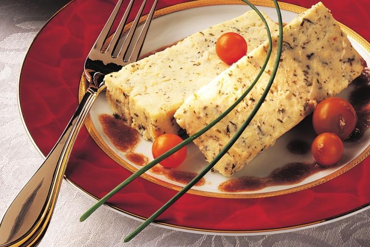 terrine de fromage aux fines herbes