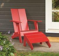 Modern Adirondack Chair Plan Plans Free Download ...