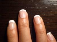 Short Acrylic Nails French Manicure | www.pixshark.com ...