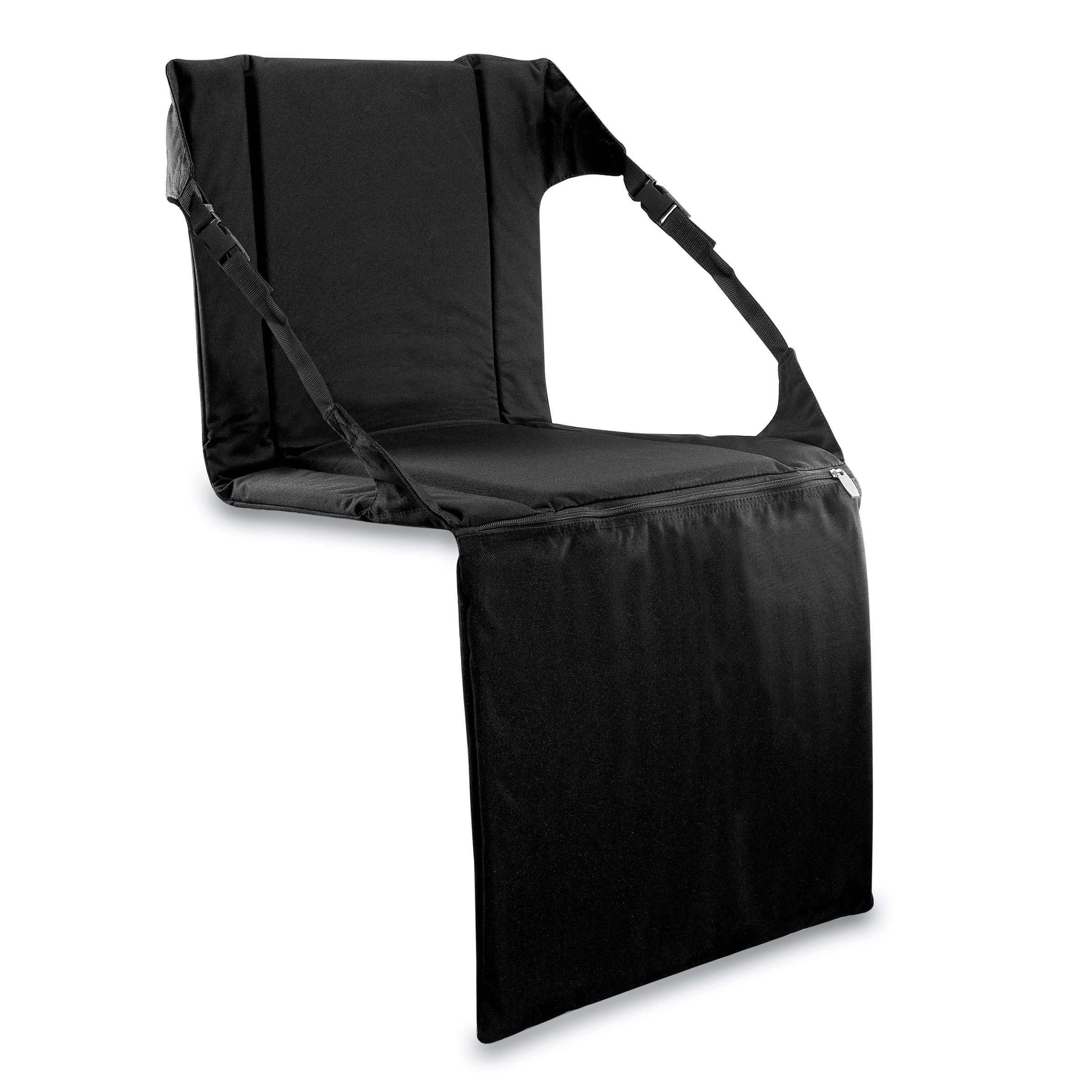 Picnic Time Stadium Chair Picnic Time Padded Stadium Seat Black