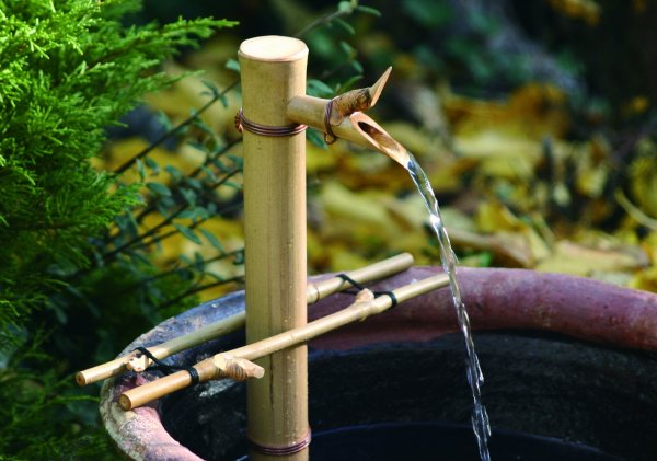 Bamboo Accents 12in. Adjustable Spout & Pump Kit