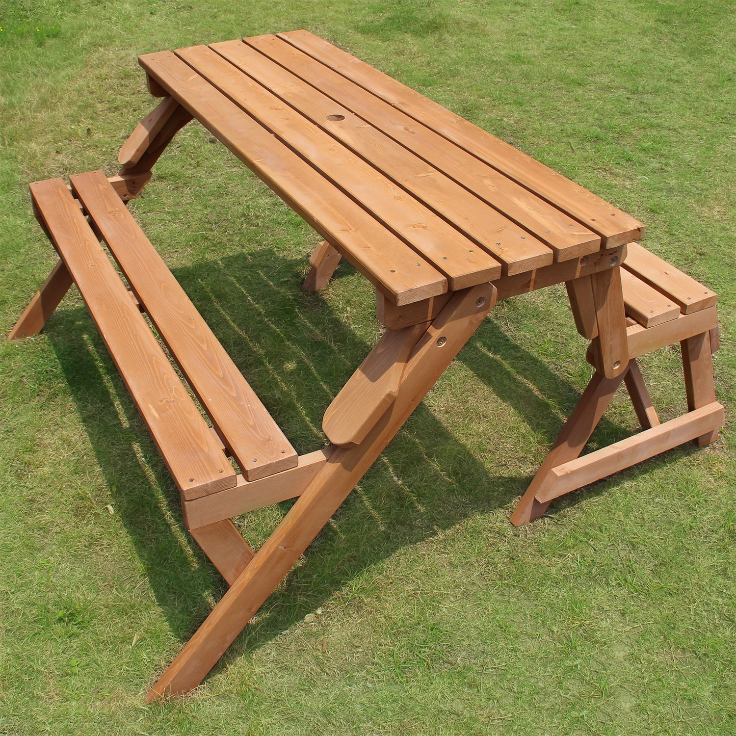 merry garden adirondack chair covers event products partly assembled, interchangeable picnic table/garden bench