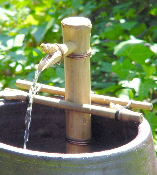 "Bamboo Accents 7"" Adjustable Spout & Pump Kit"
