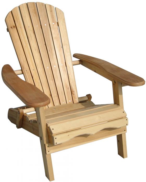merry garden adirondack chair blood draw products foldable - fir wood, unfinished