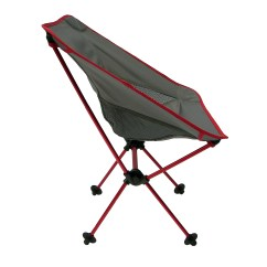 Travel Chair Big Bubba Cowhide Upholstered Chairs Joey Camping Red