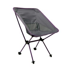 Travel Chair Big Bubba Old Wooden Ladder Back Chairs Joey Camping Purple