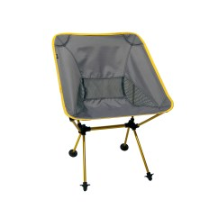 Travel Chair Big Bubba Covers With Sashes For Rent Joey Camping Yellow