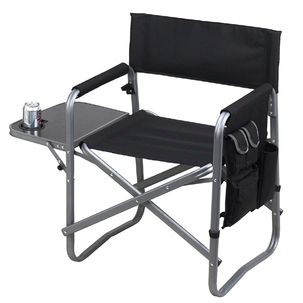 sport folding chairs revolving dining chair picnic at ascot deluxe sports black