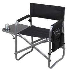 Folding Sports Chair Detecto Scale Picnic At Ascot Deluxe Black