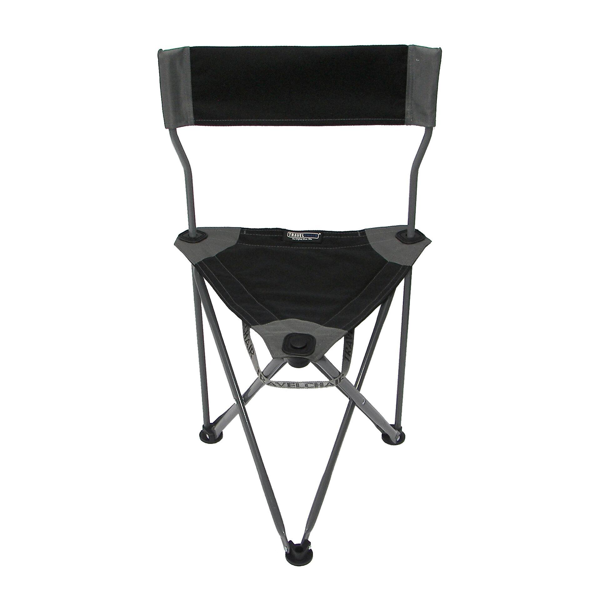Travel Chair Ultimate Slacker 20 Folding Chair  Black