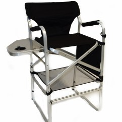 Tall Director Chair Plastic Chairs Bunnings Deluxe W Side Table And Cup Holder 57474908e3b835 99511673 Jpg
