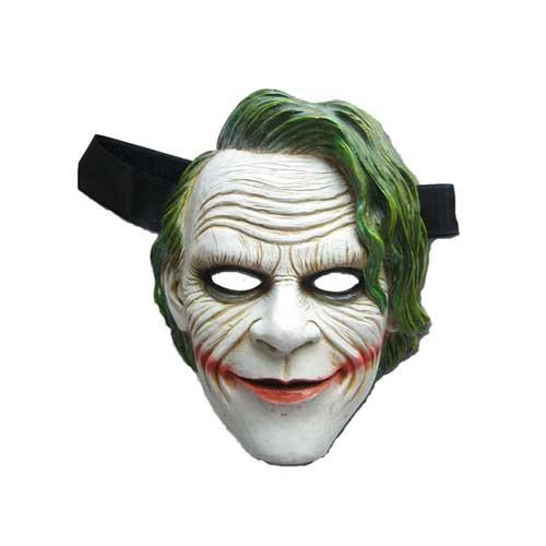 Evil Clown Face Joker Mask