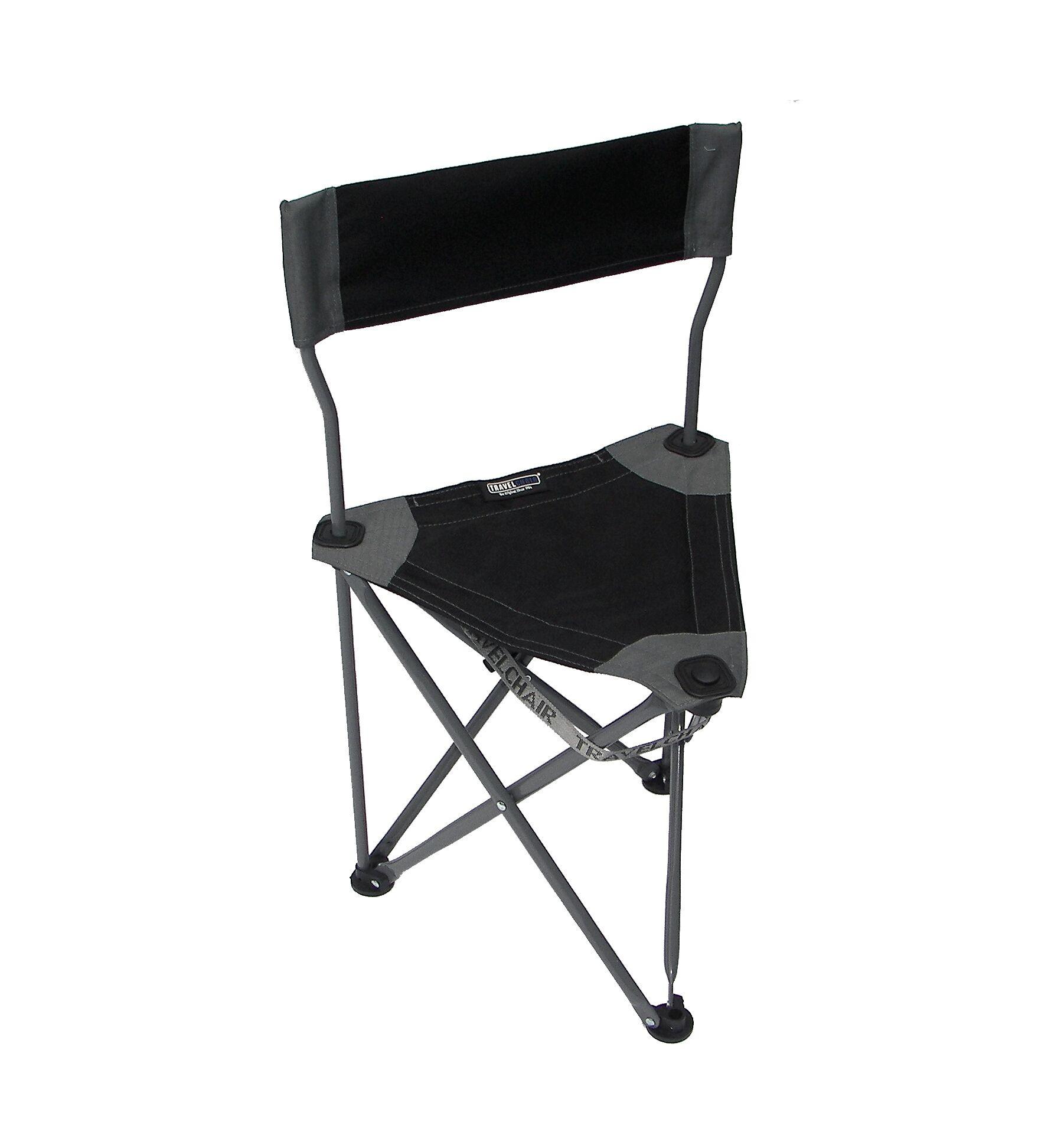 folding travel chair gliding rocking with ottoman ultimate slacker 2 black