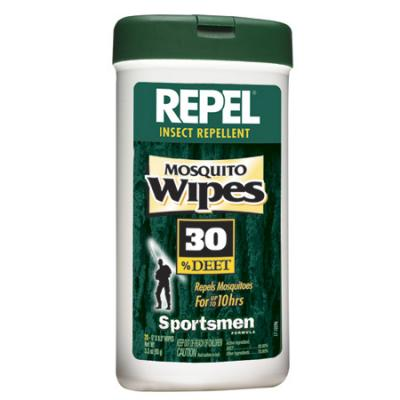 Repel Mosquito Wipes 30 Deet