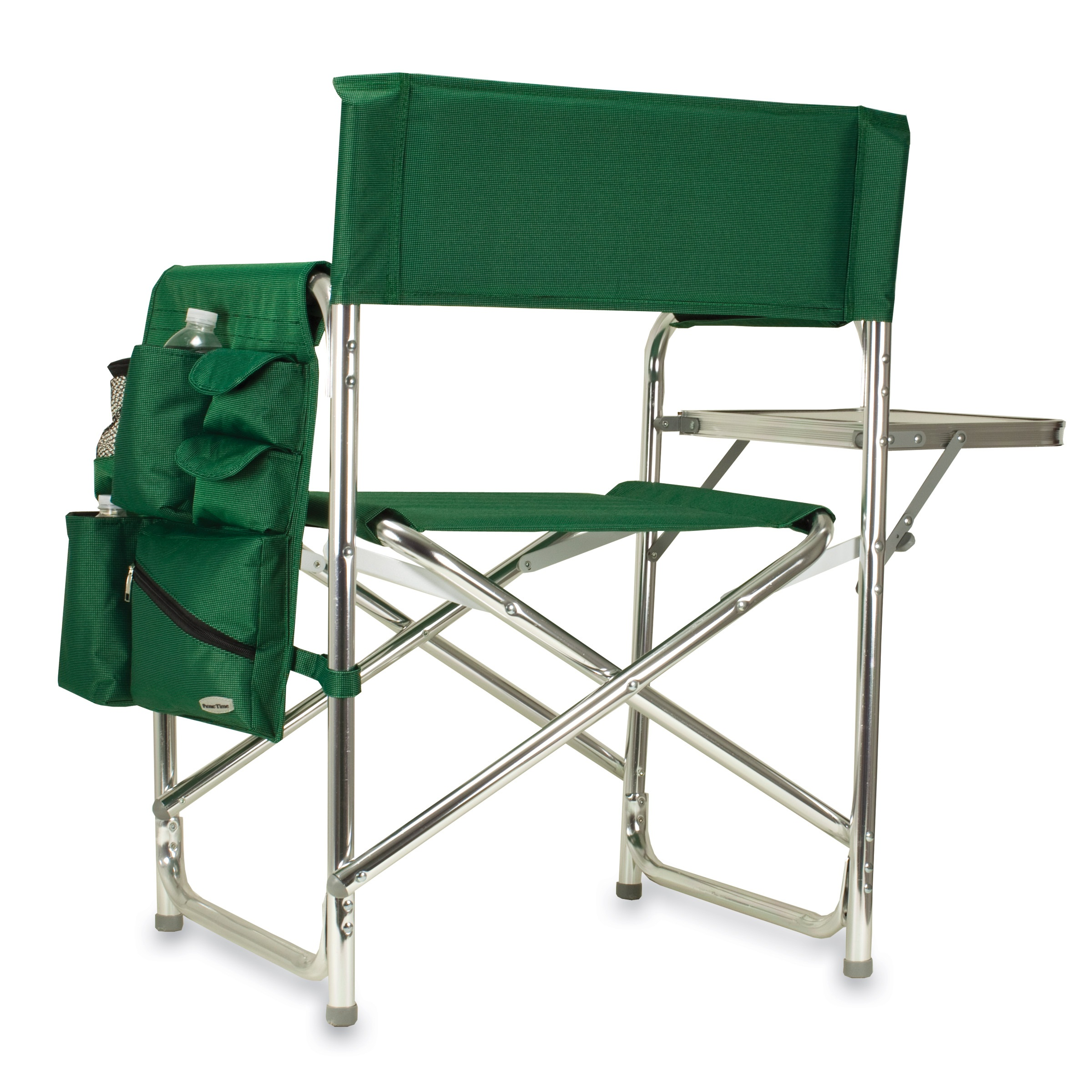 Picnic Time Sports Chair Picnic Time Green Portable Folding Sports Camping Chair