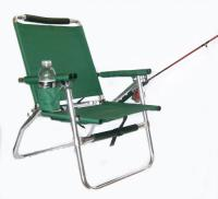 Ultra light Backpack Fishing Chair, Green