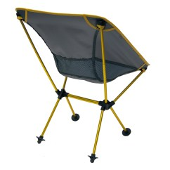 Travel Chair Big Bubba Pier One Leather Joey Camping Yellow