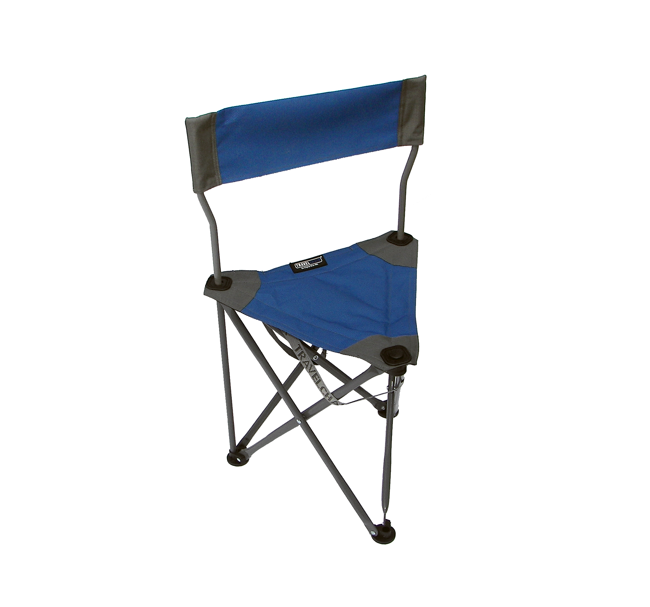 folding chair travel camping chairs for fat people ultimate slacker 2 blue