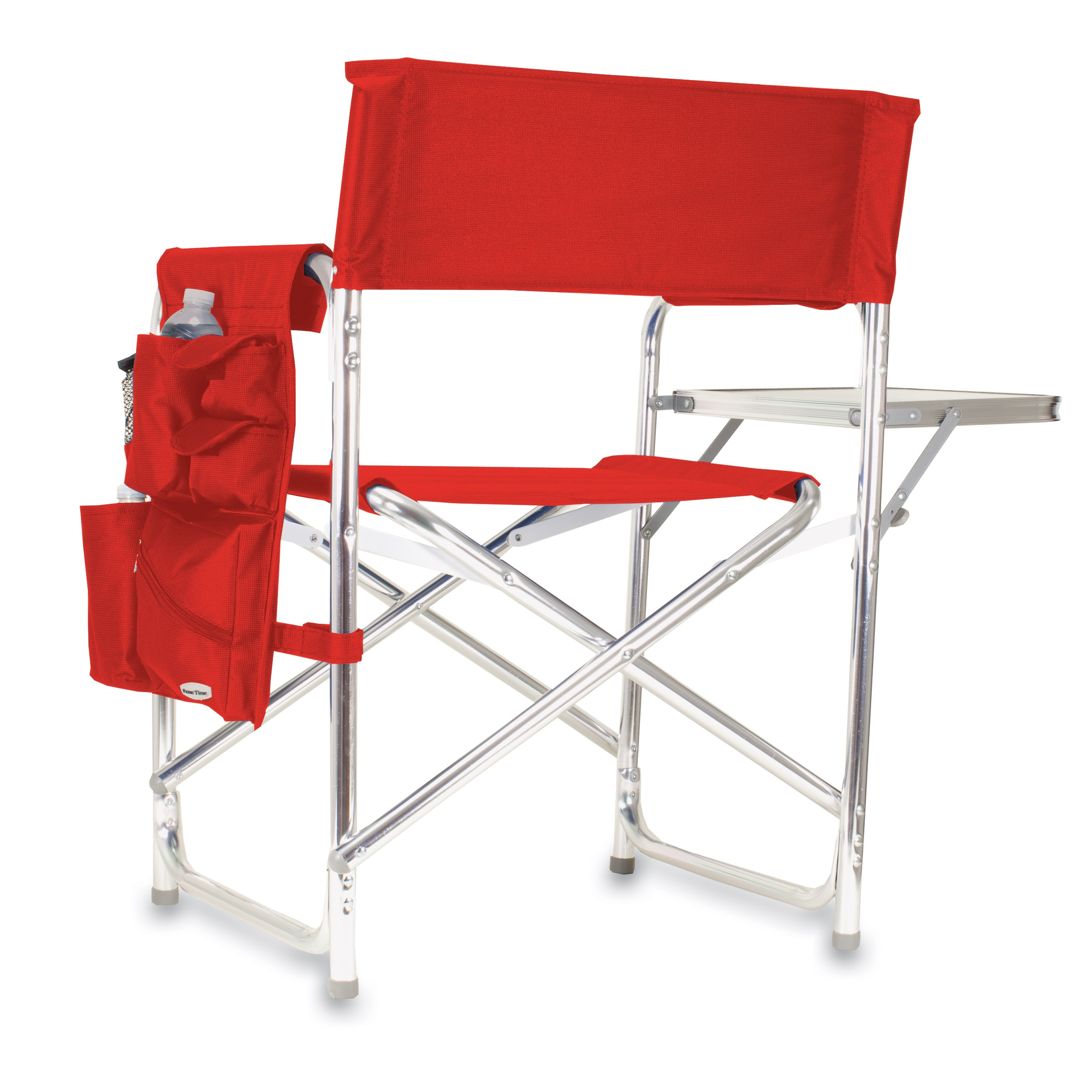 Picnic Chair Picnic Time Red Portable Folding Sports Camping Chair