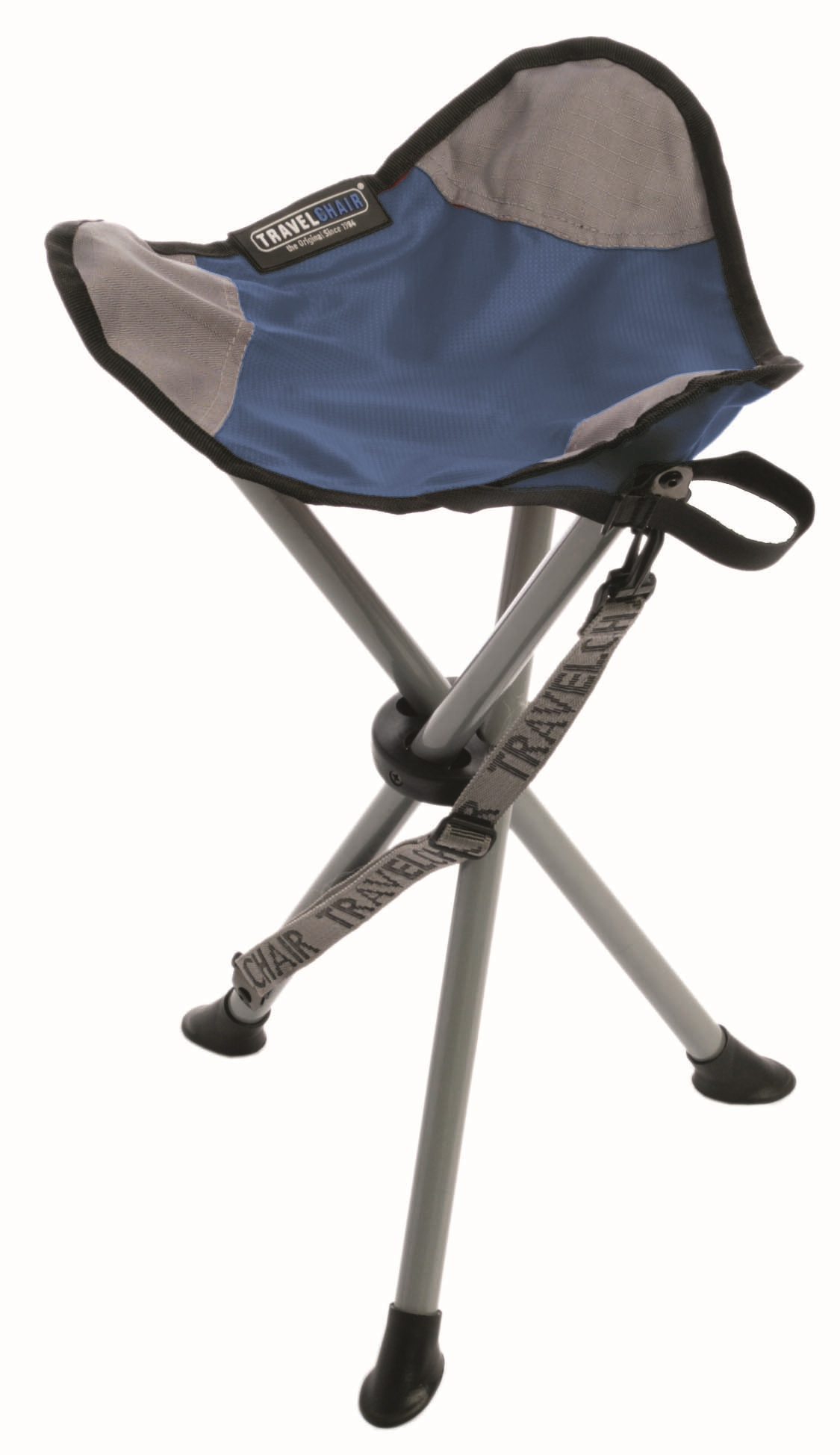 compact camp chair gym argos travel slacker stool blue