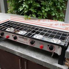 Outdoor Kitchen Griddle Hotel Suites With Camp Chef Home 2 Burner Stove - Somerset Ii