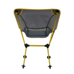 Travel Chair Big Bubba Dining Room Covers Dublin Joey Camping Yellow