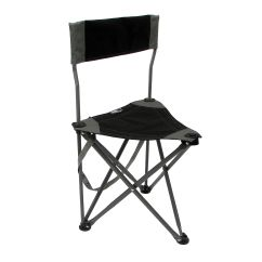 Folding Chair Travel Club Chairs With Ottoman Ultimate Slacker 2 Black