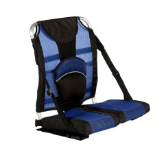 Picnic Time Folding Chair 2 Chairs And Table Patio Set Travel Paddler Chair-blue