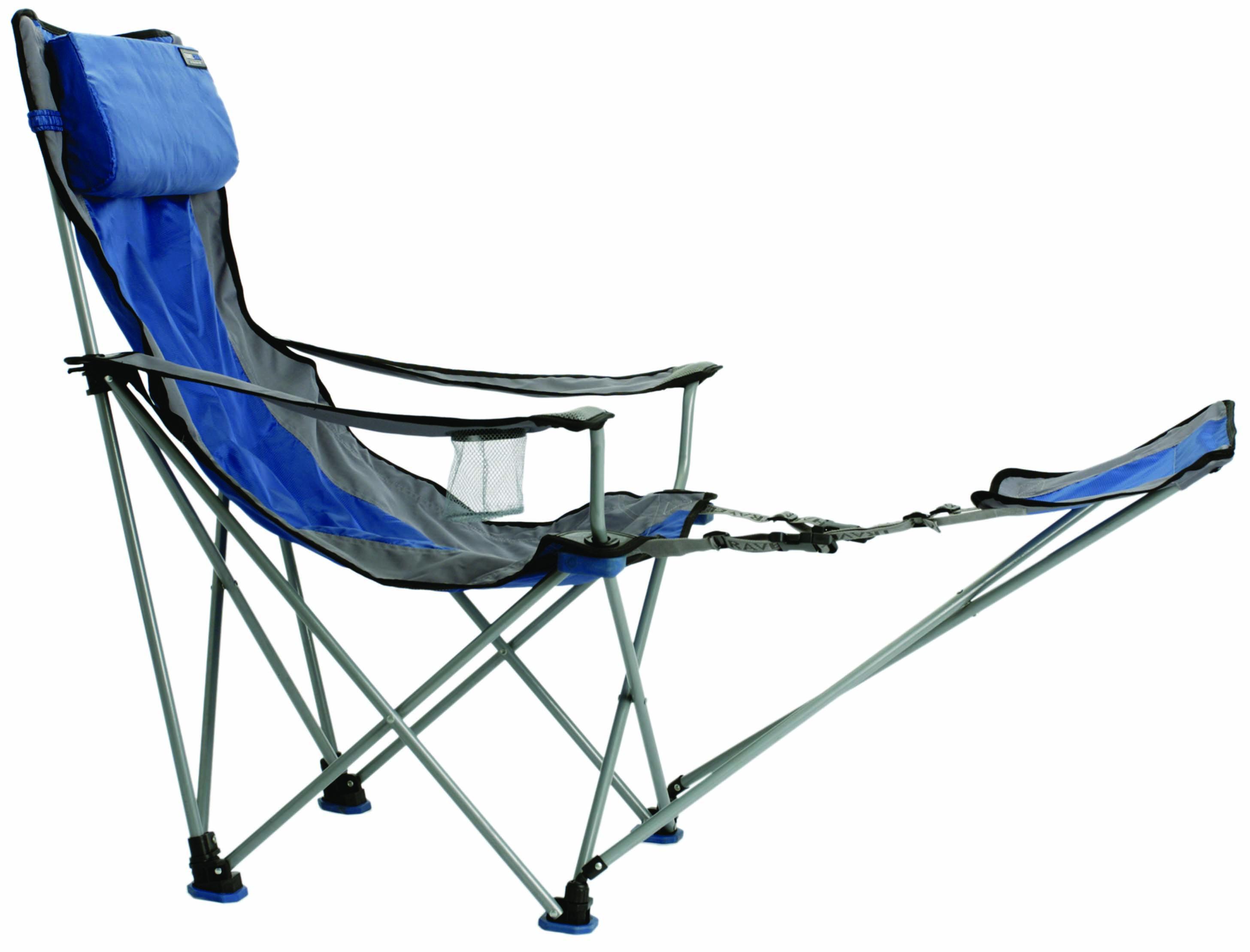 Travel Chair Big Bubba Folding Outdoor Chair Blue