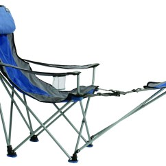 Camping Chair Accessories Aluminum Rocking Folding Travel Big Bubba Outdoor Blue