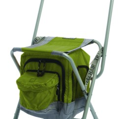 Travel Chair Big Bubba Posture With Arms Anywhere Cooler Green