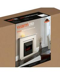 Warmlite Durham fireplace suite | J D Williams