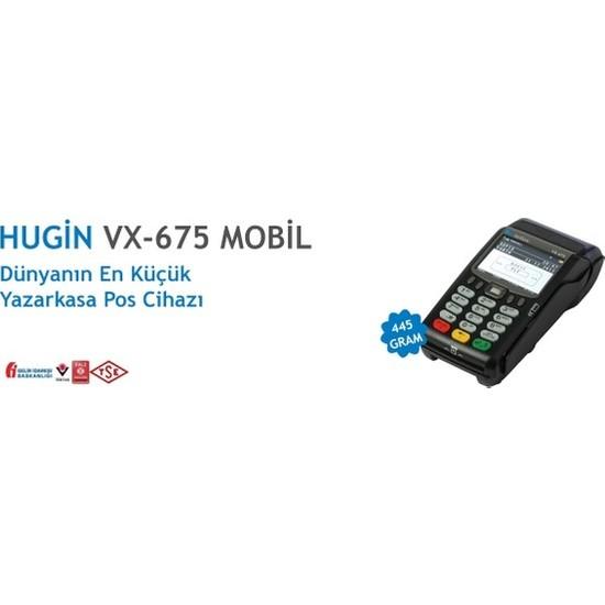 Hugin Verifone Vx675 Ecr Yeni Nesil Seyyar Yazarkasa Pos
