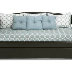 Bobs Furniture Sleeper Sofa Down Wrapped Cushion Sofas Day Bed Queen Daybed Twin Trundle Luxurious ...