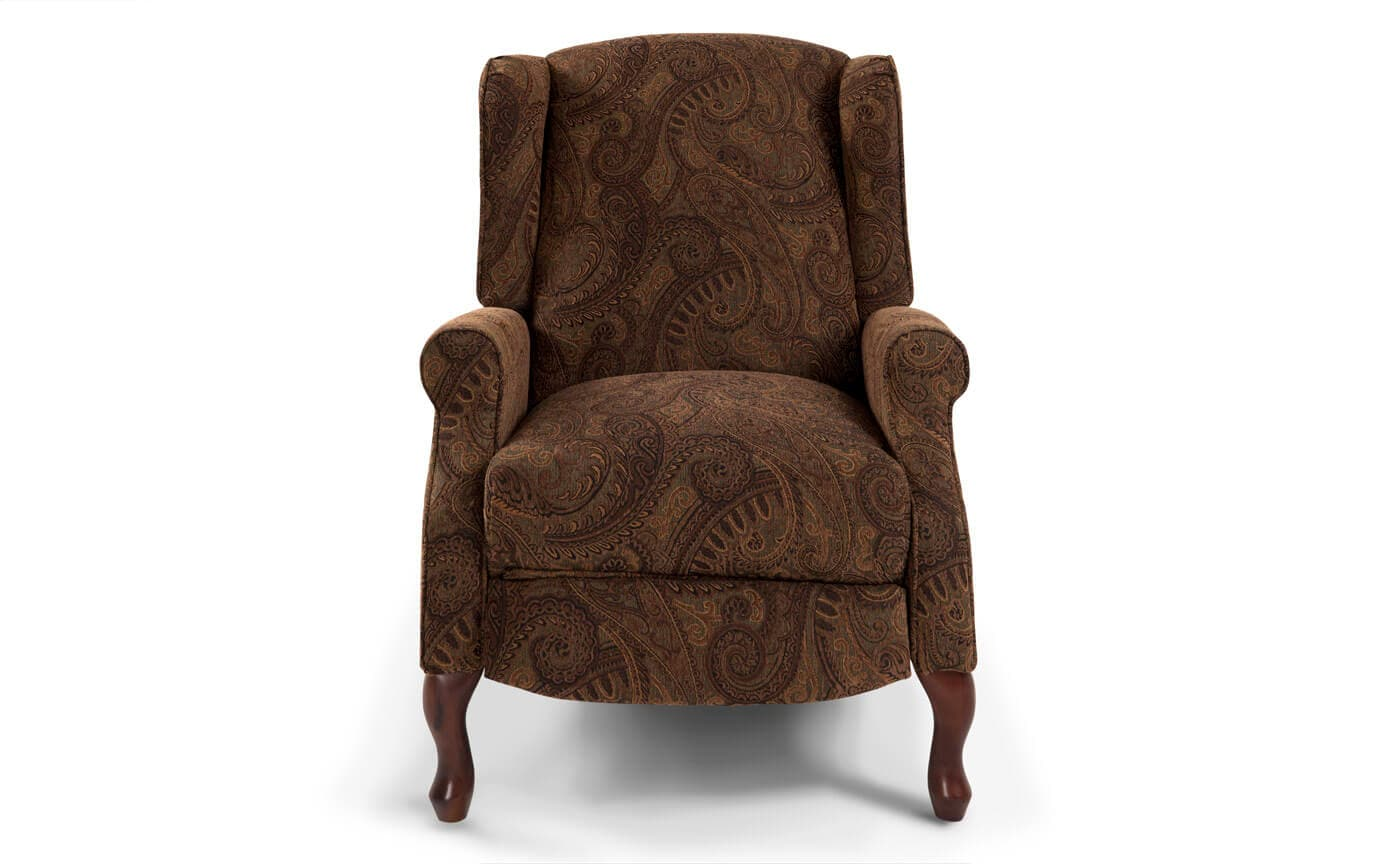 accent chair recliner patio with ottoman set queen anne push back bobs com gallery slider image 1
