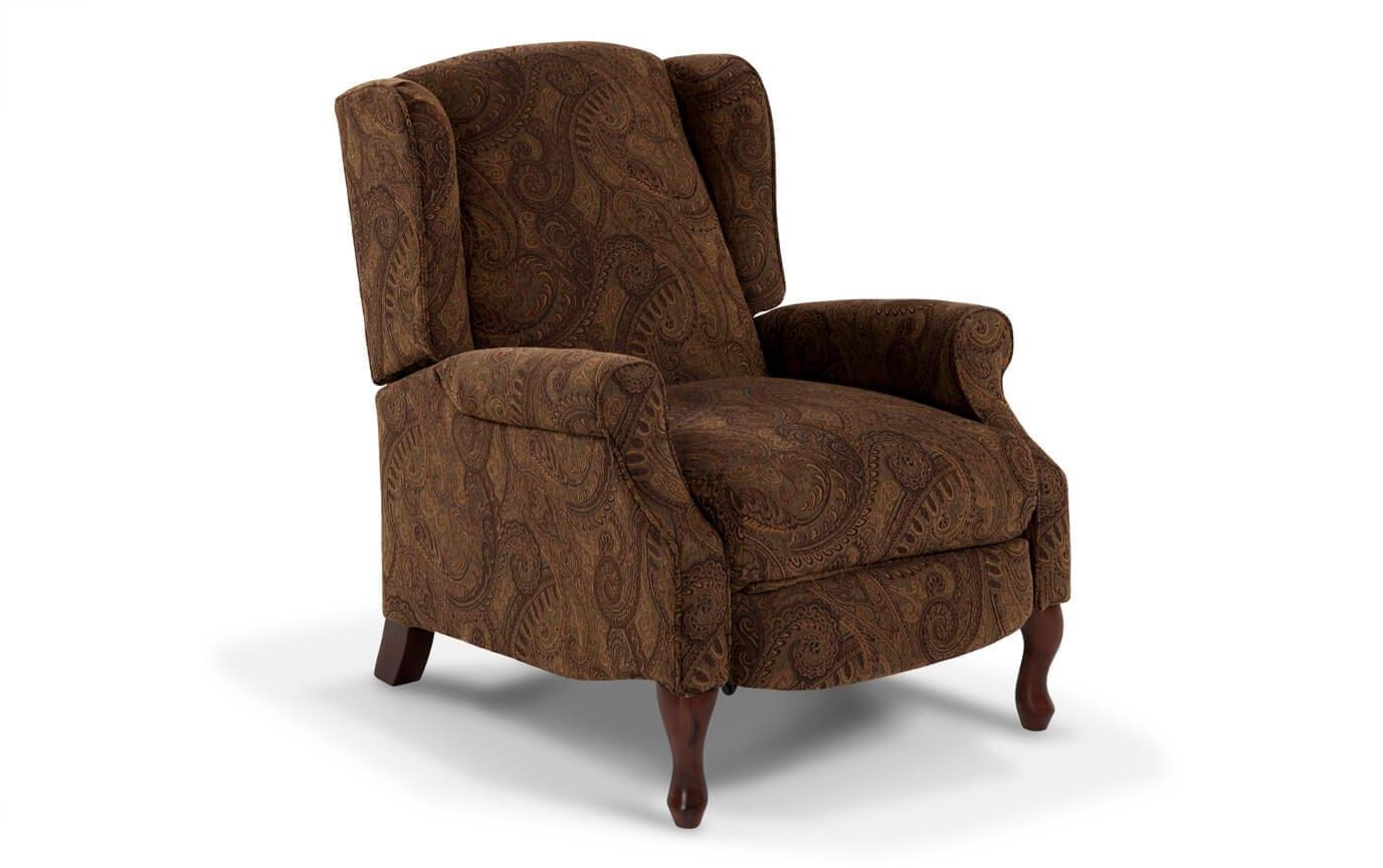 Accent Recliner Chairs Queen Anne Accent Recliner Bob 39s Discount Furniture