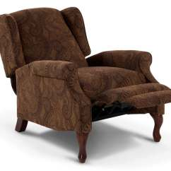 Queen Anne Wing Chair Recliner Patio Bed Accent Bob 39s Discount Furniture