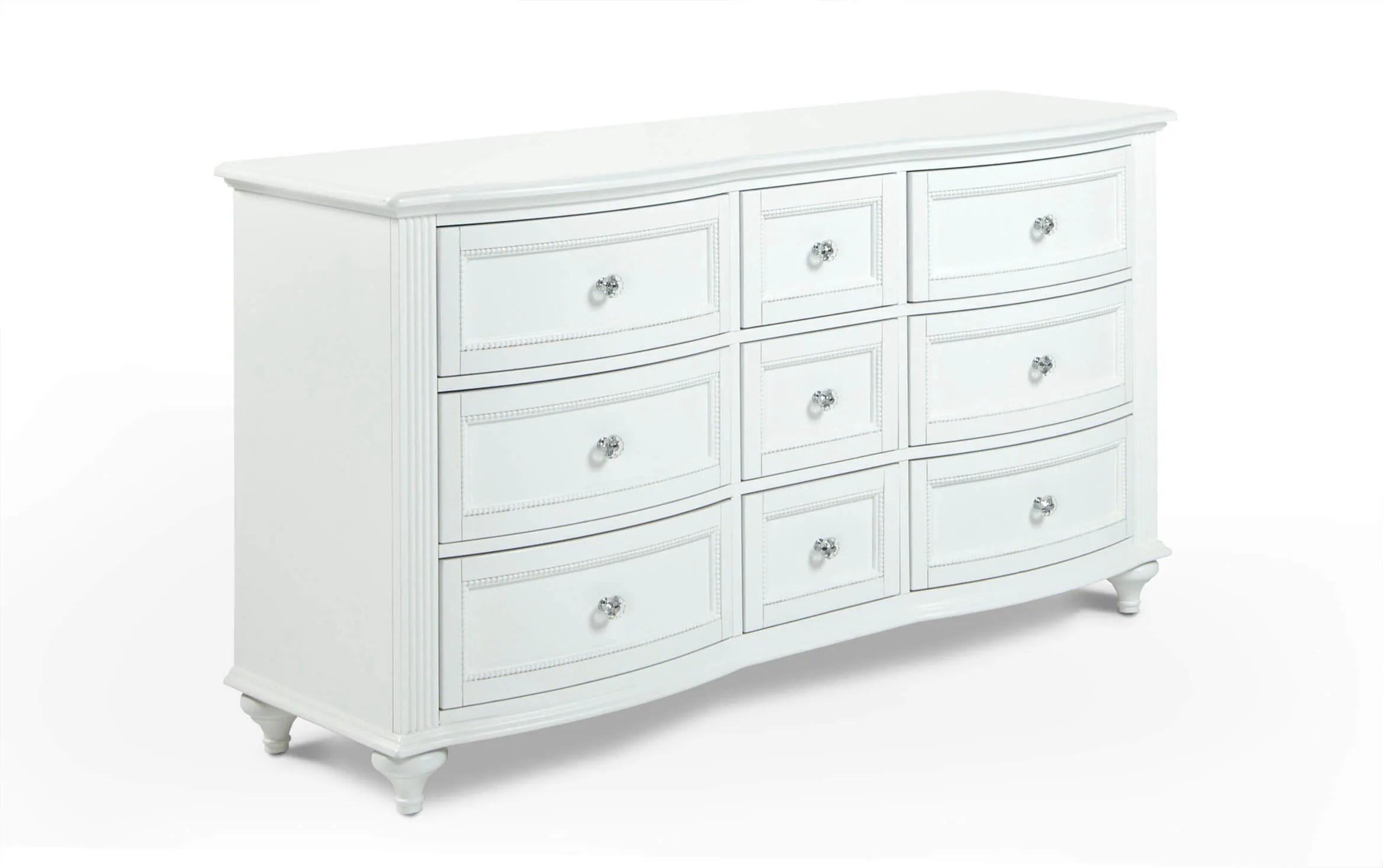 madelyn white dresser