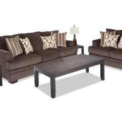 7 Piece Living Room Package Furniture Philadelphia Miranda Set Bobs Com Gallery Slider Image 1