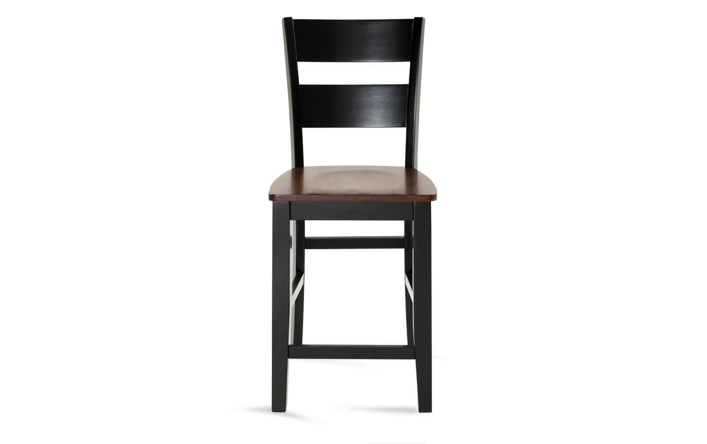 Counter Chair Blake Cherry Black Counter Stool