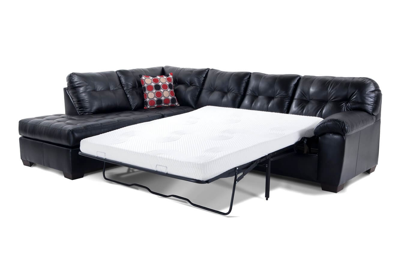 right arm sleeper sofa futon company bed two seater mercury facing bob o pedic gel queen