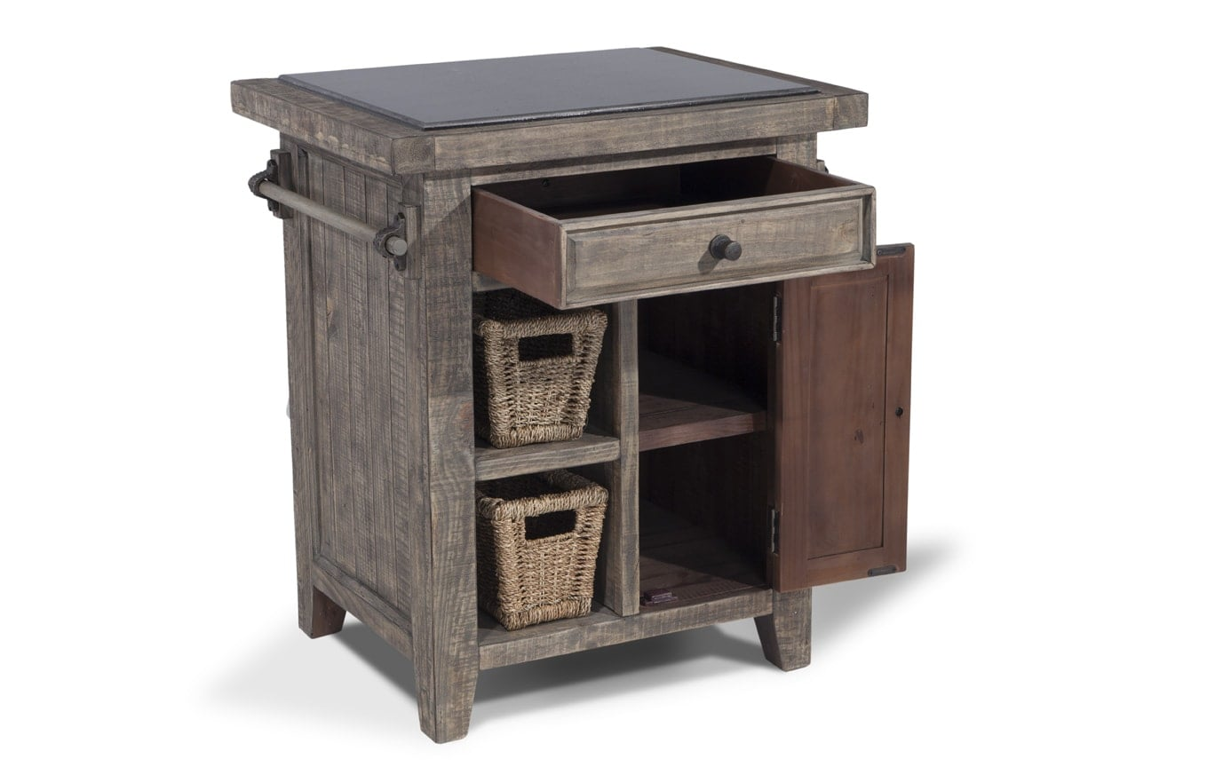 bobs furniture kitchen island small table ideas granite top with baskets bob 39s discount