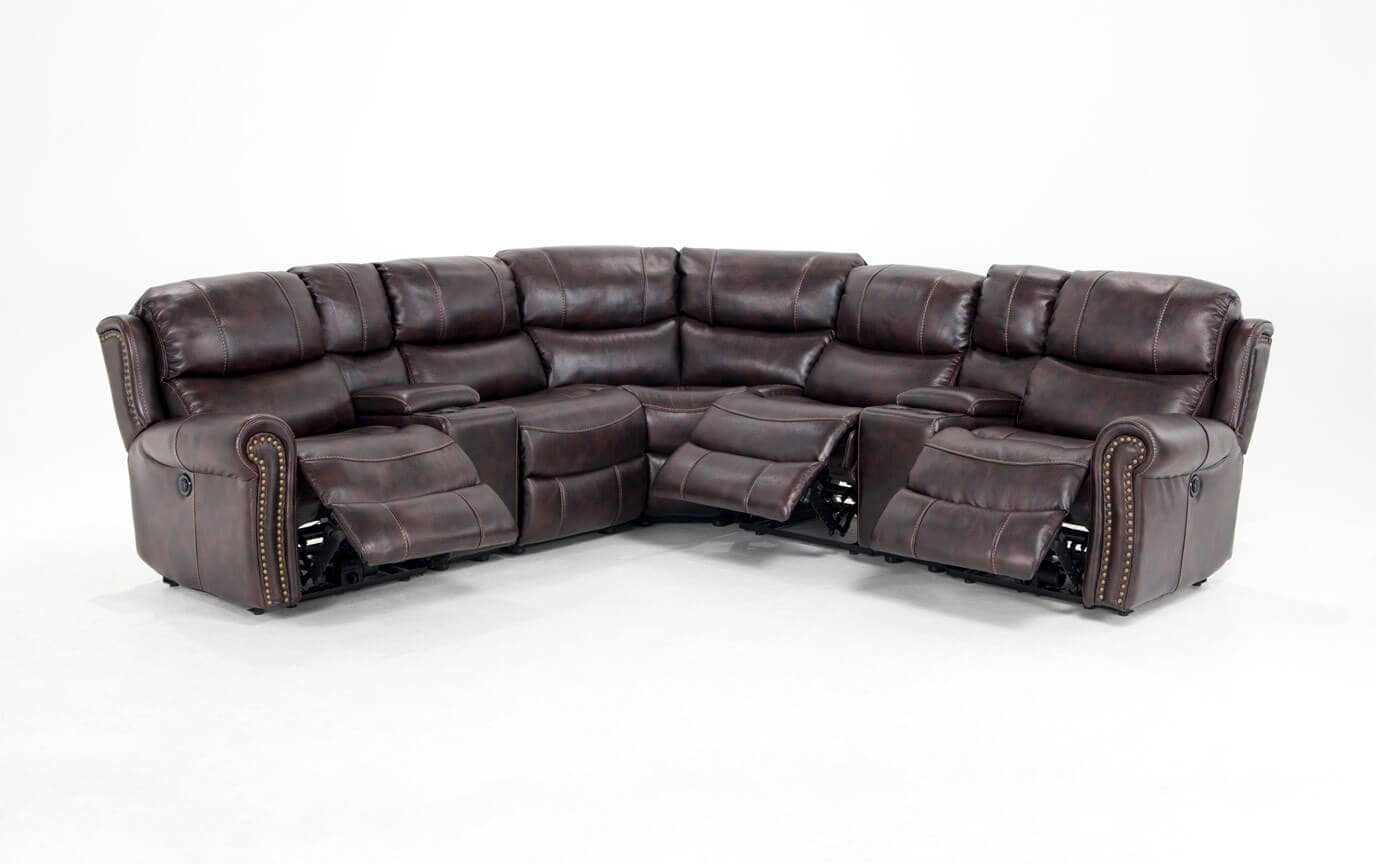 gladiator power dual reclining sofa reviews outdoor furniture lannister seven piece sectional bob 39s discount