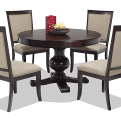 Round Dining Chairs Big Joe Amazon Gatsby 5 Piece Set With Side Bobs Com Gallery Slider Image 1