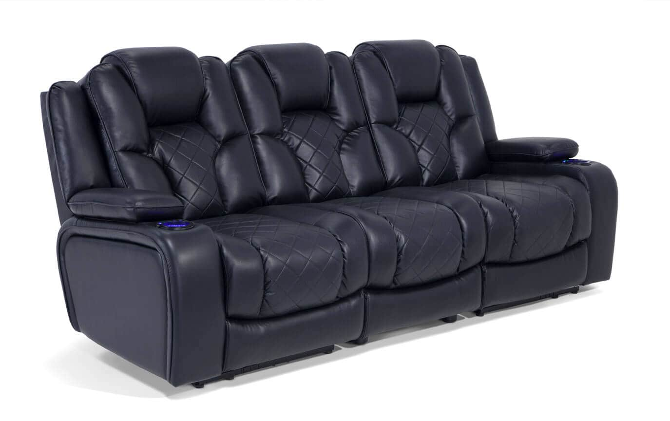 gladiator power dual reclining sofa reviews double bed beds bob 39s discount furniture