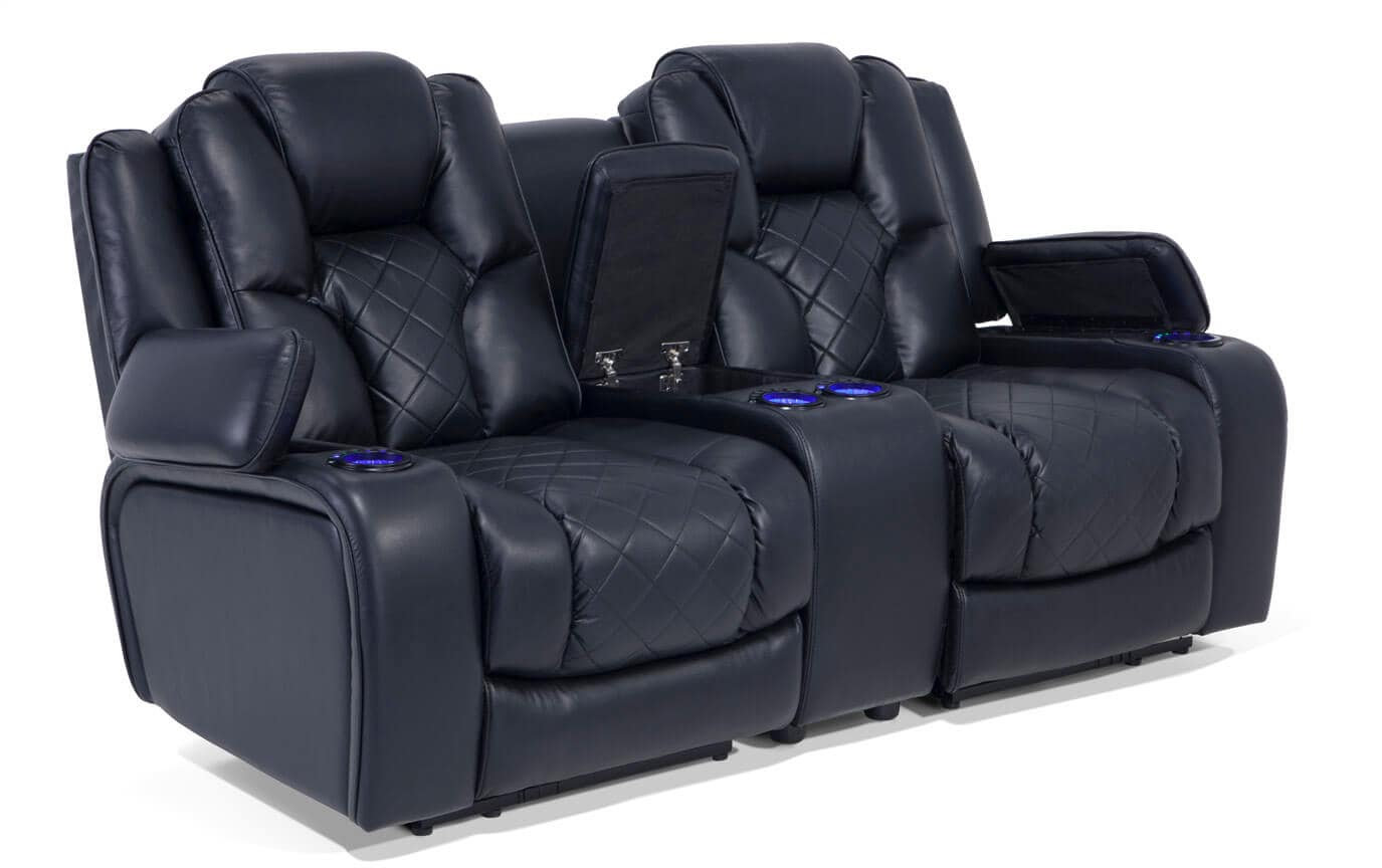 gladiator power dual reclining sofa reviews comfortable bed sectional console loveseat bob 39s