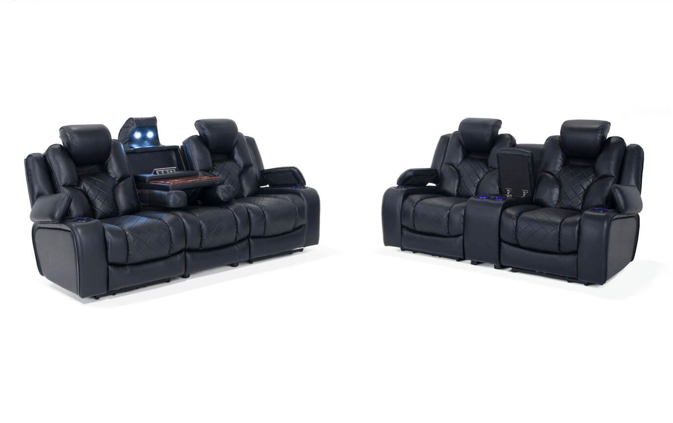 gladiator power dual reclining sofa reviews single seat futon bed and console loveseat