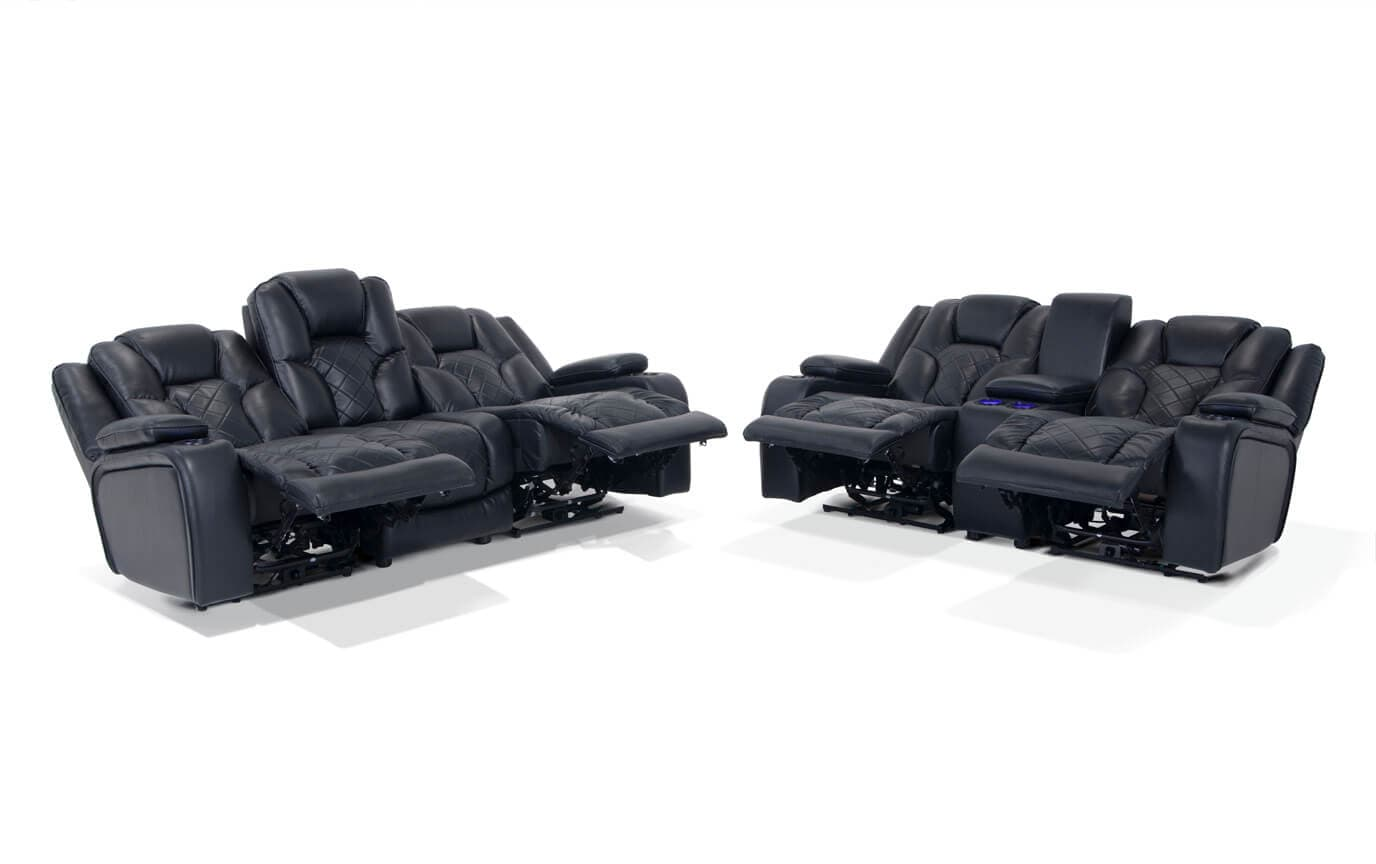 gladiator power dual reclining sofa reviews cloud luca nichetto and console loveseat