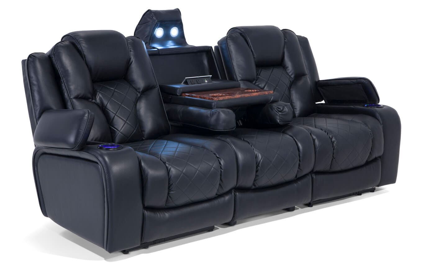 gladiator power dual reclining sofa reviews small curved and console loveseat